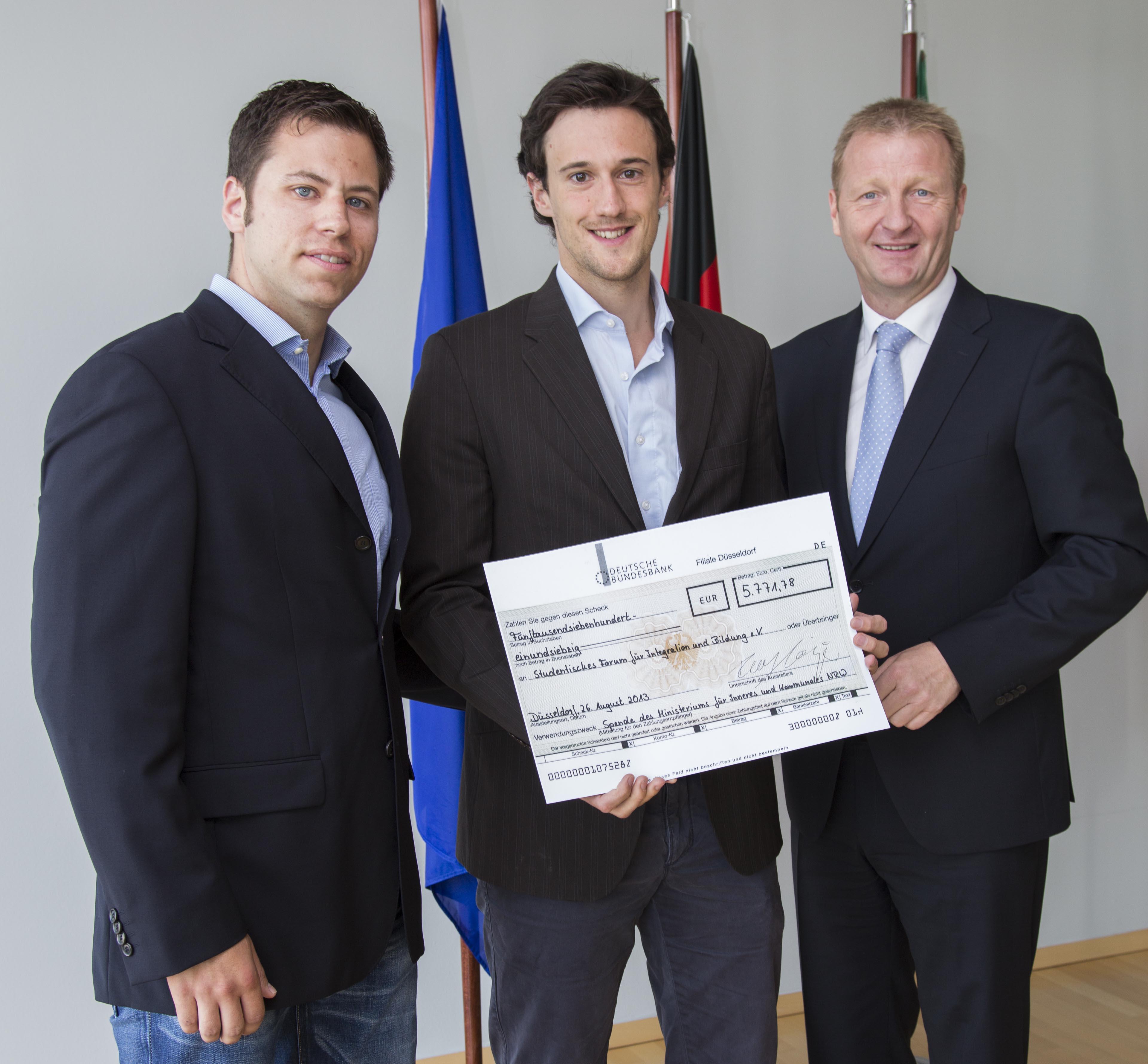 FIB erhält finanzielle Unterstützung durch das Land NRW!