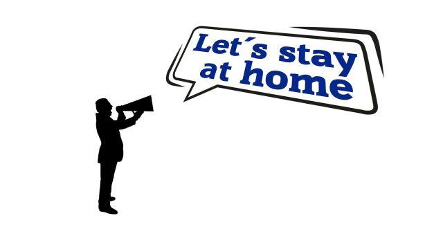 Bleibt zu Hause!