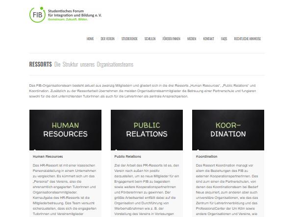 Neue Website – Wir stellen unsere Ressorts vor